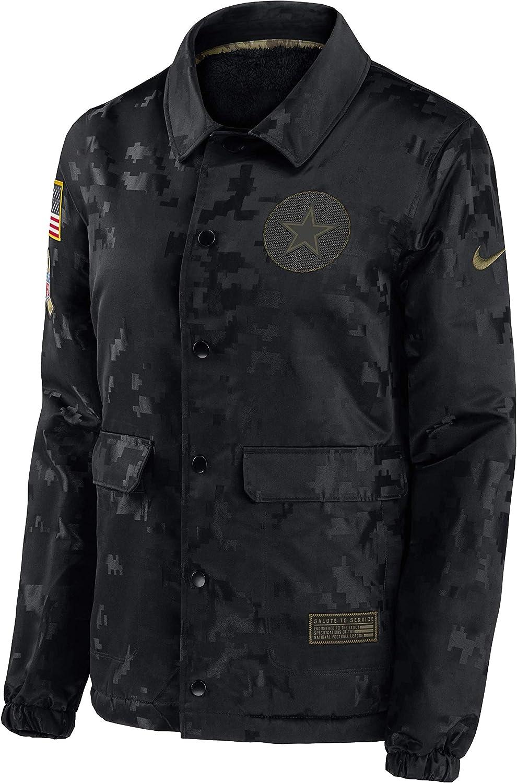 Dallas Cowboys NFL womens Nike Salute to Service Jacket