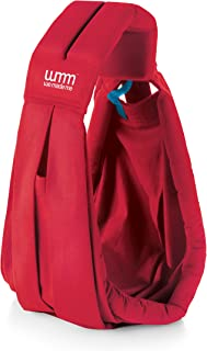 We Made Me Smile Lite Infant Sling, Multiple Carry Positions, from 3.6-15.9kg, Scarlet Red