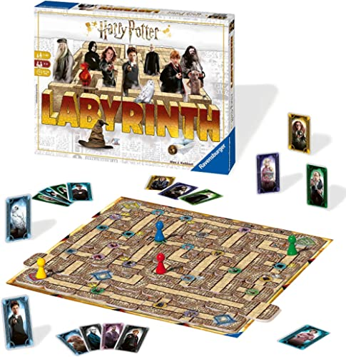 Ravensburger Harry Potter Labyrinth Family Board Game for Kids & Adults Age 7 & Up - So Easy to Learn & Play with Gre...