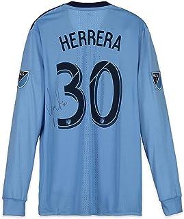 Yangel Herrera New York City FC Autographed Match-Used Blue #30 Jersey vs. Philadelphia Union on October 28, 2018 - Fanatics Authentic Certified