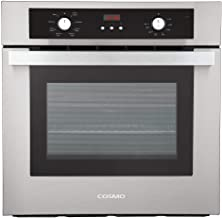Cosmo C51EIX Electric Built-In Wall Oven with 2.5 cu. ft. Capacity, Turbo True European..