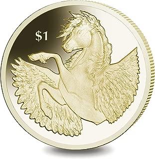 British Pobjoy Mint: 2018 Virenium Pegasus Coin