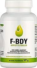 Vihado F-BDY Appetitzügler Kapseln – natürlich Abnehmen mit Konjakwurzel – mit..