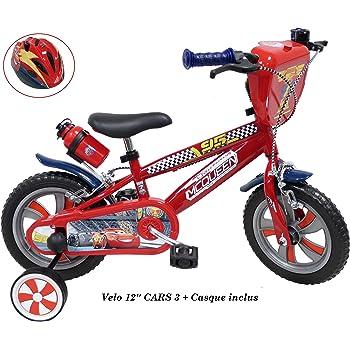 Bicicleta de 12 Pulgadas Cars de 3 Pulgadas para niños de 2 a 4 ...
