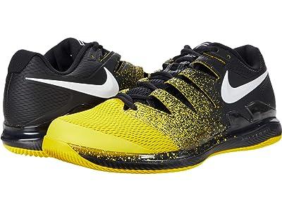 Nike Air Zoom Vapor X (Black/White/Speed Yellow) Men