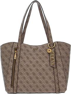 Guess Damen Naya Trap Tote Bags Crossbody, Einheitsgröße