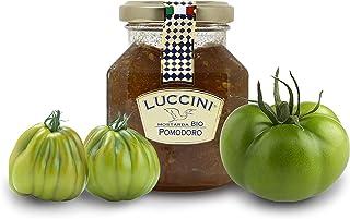 Luccini Artisanal Tomato Mostarda - Italian Speciality Food, Traditional Recipe - 240g / 8.46oz