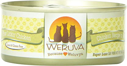 Weruva Paw Lickin' Chicken Canned Cat Food - 5.5 oz (24 cans in a case)