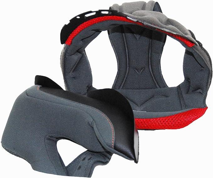 Vega Speaker Pocket Replacement Liner for NT200 Open Face Helmet Grey, X-Small
