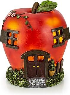 VP Home Apple Fairy House Solar Garden Light