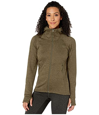 The North Face Canyonlands Hoodie (New Taupe Green Heather) Women