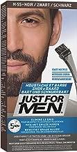 Just For Men Moustache et Barbe M55 Coloration Barbe, Noir, 28 g