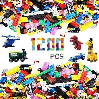 Alapa Building Bricks - 1200Piece Toys Bulk Block Set...