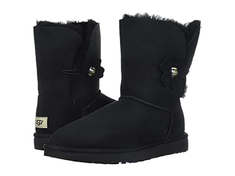 Bailey Bailey Bailey Button UGG UGG Button Black Poppy UGG Poppy Black Button Poppy gTcZgYxqdw