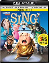 sing blu ray special edition