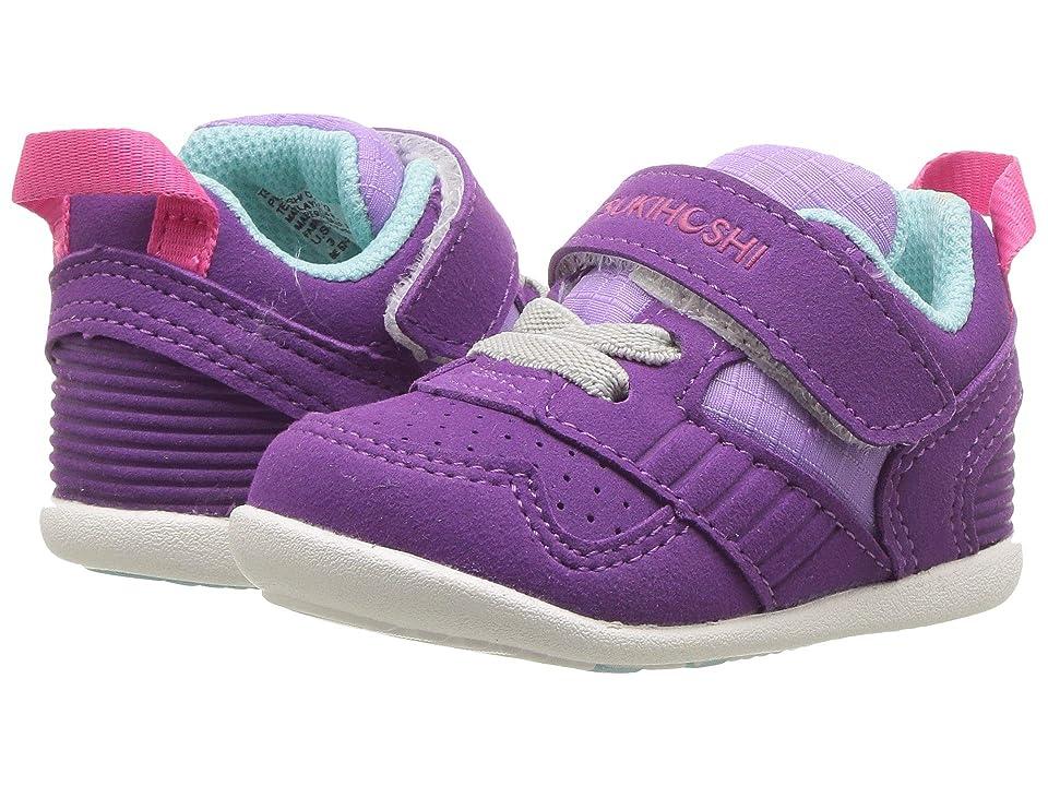 Tsukihoshi Kids Racer (Infant/Toddler) (Purple/Lavender) Girls Shoes
