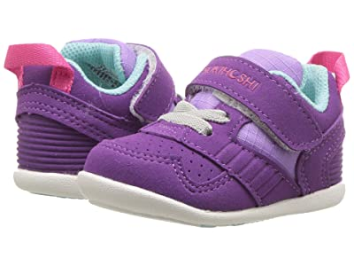 Tsukihoshi Kids Racer (Infant/Toddler) (Purple/Lavender) Girls Shoes