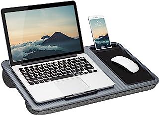 LapGear Home Office Lap Desk with Device Ledge, Mouse...