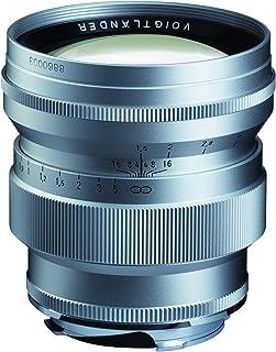 Voigtlander 75mm f/1.5 Nokton Aspherical Lens - VM Leica M Mount Lens - Silver