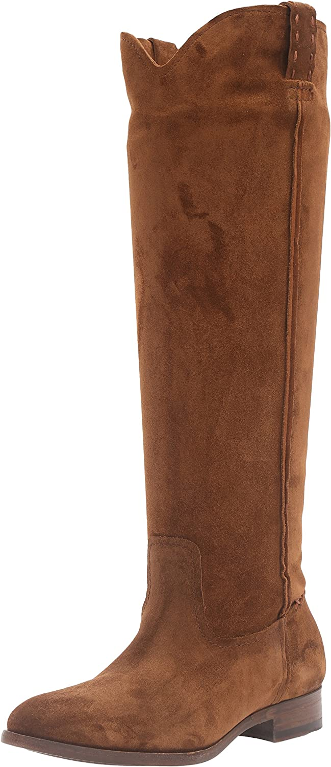 FRYE Women's Cara Tall Suede Slouch Boot