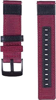 ساعة DOMESKIN Galaxy Watch 46mm Bands & Gear S3 Frontier Bands - 22 مم سريعة الفك مع سوار معصم جلدي لساعة Samsung Gear S3 ...