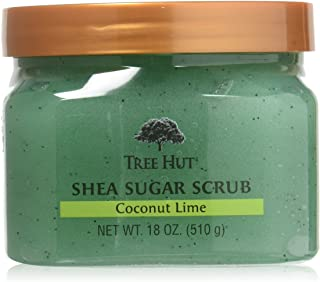 Tree Hut Sugar Body Scrub 18 Ounce Coconut Lime Shea (532ml) (2 Pack)