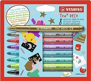 STABILO Trio Deco Etui 8 Stuks