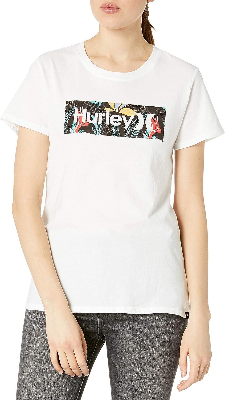 Hurley Women's Domino Perfect Crew Tshirt