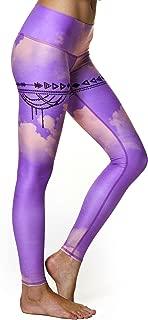 Women's Hot Pants or Leggings, Purple Hazed Pattern
