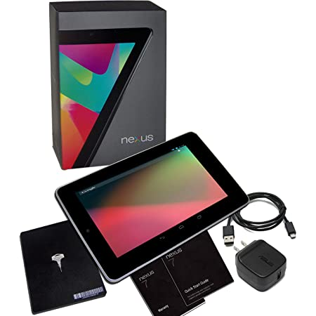 Amazon Com Asus Nexus 7 Google 32gb Factory Unlocked Gsm 3g Wi Fi Android Tablet Pc Black 2012 Version Tablet Computers Computers Accessories