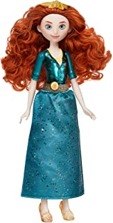 Disney Princess Royal Shimmer Merida Doll, Fashion Doll with Skirt and Accessories, Toy for Kids Ages 3 and Up