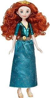 دمية ديزني برينسيس رويال شيمر ميريدا هي دمية ازياء مع تنورة واكسسوارات، لعبة اطفال لعمر 3 سنوات فما فوق