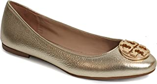 25dd569e4 Tory Burch Tumbled Leather Claire Ballet Flat
