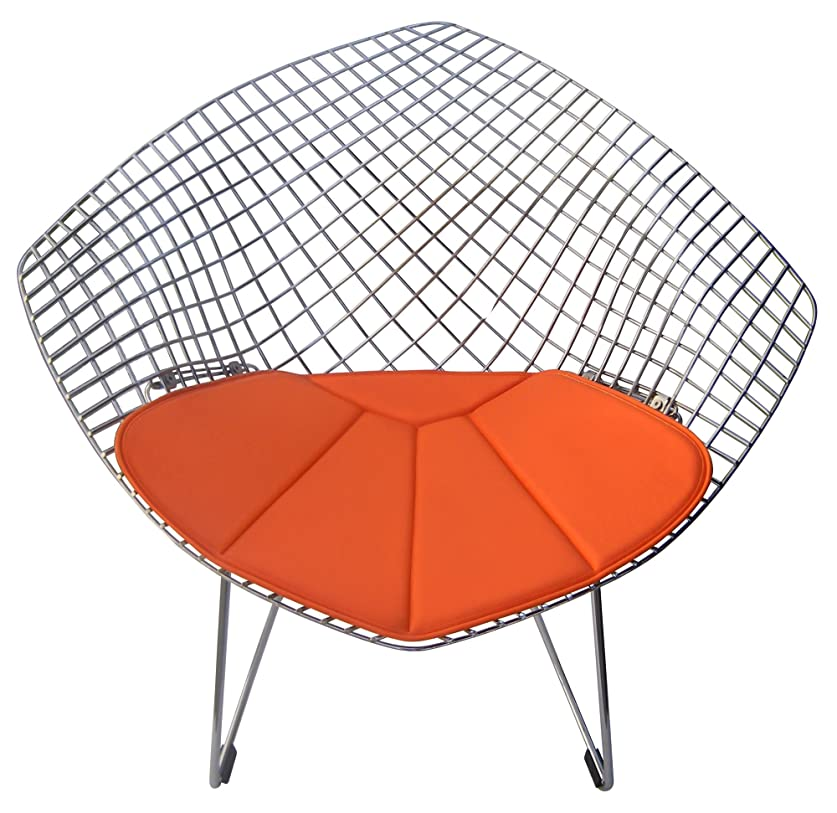 エアコン落とし穴星(Orange) - Cushion for Bertoia Diamond Chair (orange)