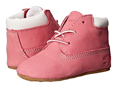 Timberland Kids Crib Bootie with Hat (Infant/Toddler) (Fuchsia Rose) Kid