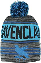 Harry Potter Black Blue Ravenclaw Rolled Beanie,One Size