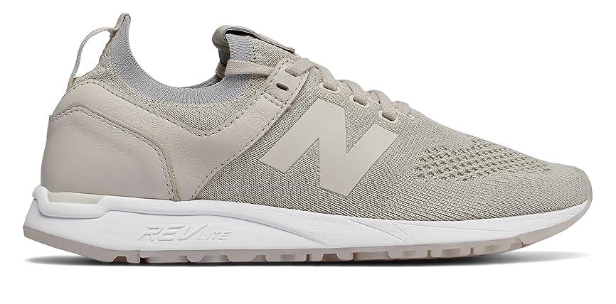 カードトリッキーふくろう(ニューバランス) New Balance 靴?シューズ レディースライフスタイル 247 Decon Moonbeam with White ホワイト US 5.5 (22.5cm)