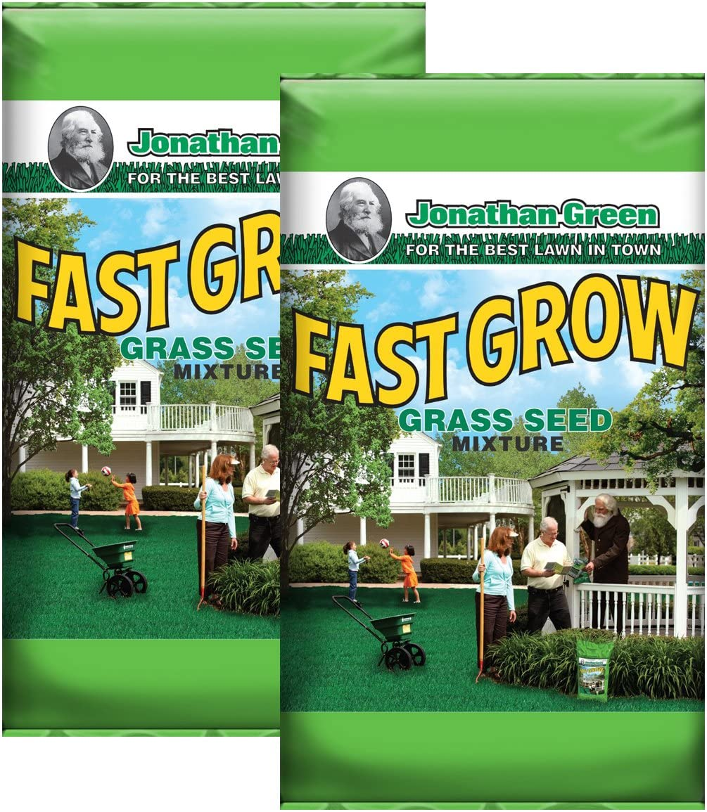Jonathan Green 10820 Fast Grow Grass Seed of NEW before selling ☆ Pound Mix bags 3 2 Max 56% OFF