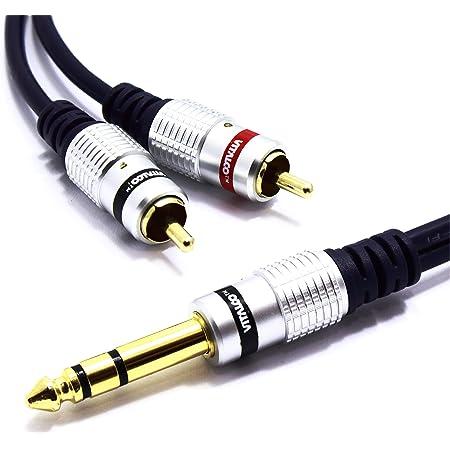Cordial Y Kabel Stereo 2 Rca Klinkenband 90 Cm Musikinstrumente