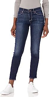 زنانه مارک خوش شانس Mid Rise Sweet Straight Jean