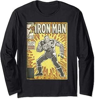 Avengers Iron Man Return Of The Original Comic Cover Long Sleeve T-Shirt