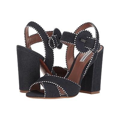 Tabitha Simmons Andres (Indigo Denim/Navy/White Calf) High Heels