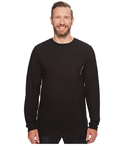 Timberland PRO Base Plate Blended Long Sleeve T-Shirt Tall (Jet Black) Men