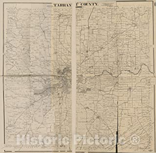 Best old tarrant county maps Reviews