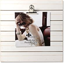 wooden clipboard picture frame