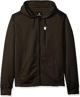 Southpole Men's Fleece Zip Sweater Hooded Sweatshirt