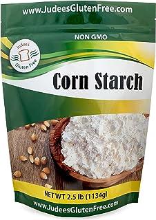 Judee's Corn Starch (2.5 lbs) Unmodified, Non-GMO, Made in USA, Gluten Free Cornstarch