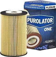 Purolator PL25848 Blue Single PurolatorONE Advanced Engine Protection Cartridge Oil Filter