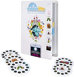 Moonlite - Special Edition Eric Carle Gift Pack, Storybook Projector For Smartphones with 5 Story Reels, For Ages 1 & Up