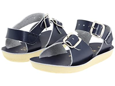 Salt Water Sandal by Hoy Shoes Sun-San Surfer (Toddler/Little Kid) (Blue/Navy) Kid